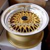 15-19 inch replica bbs rs alloy wheels Via