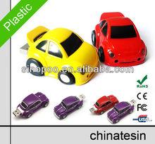 Mini Cooper Car USB Flash Drive , Plastic Car shape USB Flash , Car shape USB Memory
