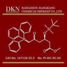 Highest quality Methyl (3R)-3-(Tert-Butyldimethylsilyloxy) 5 oxo 6 Triphenylphosphoranylidene Hexanoate CAS NO.147118-35-2