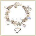 nova moda feminina jóias fazer pulseiras de cristal