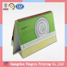 Wholesale Custom 2014 Handmade Cardboard Desk Calendar Printing