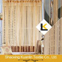 Beaded window string curtain