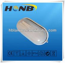 Glass PC cover E27 IP54 bulkhead light outdoor light