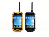 2014 new dualcore 3g smart phone S09 NFC PTT Walkie Talkie quad core android rugged smartphone IP68 waterproof dustproof
