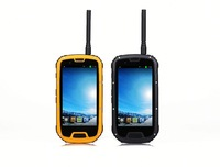2014 new 6 inch mobile phone ptt S09 NFC PTT Walkie Talkie quad core android rugged smartphone IP68 waterproof dustproof