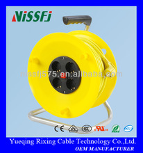 Professional Home-use Cable Tray Spring Retractable Cable Tray Electrical Extension Cable Reel