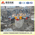 For bigger diameter piles, concrete pile breaker/cutter, pile crusher KP380A