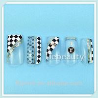 2015 Tiebeauty Custom nail art accessory /Professional Salon Nail beauty Product /Gold nail tattoo