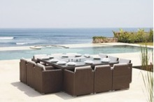 plastic modern hotel tables and chairs YT-076C YT-076T