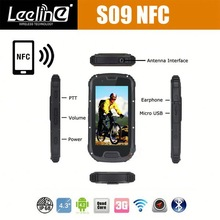 Hot sale Orignal S09 NFC reader PTT Walkie Talkie IP68 moto droid touch screen problems rugged nfc android smartphone