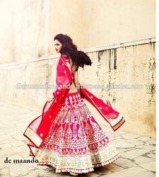 Indian bridal lehenga Heavy designer bridal lehenga saree Bridal lehenga for sale