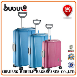 "Import export business for sale Trolley bag tsa lock suitcase wheels PP pure luggage set TL22"" 25"" 29"""