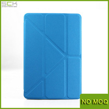 Ultrathin transformers origami stand leather case for ipad mini mini2