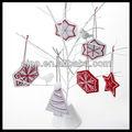 navidad decoración de fieltro
