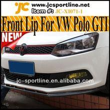 R carbon look paraurti anteriore in fibra labbro per VW Polo GTI, si adatta: gti paraurti