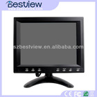 For Entertainment /Casino Systems 8 inch lcd 4 wires resistive touch monitor VGA touch screen monitor