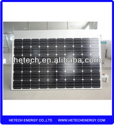 High Efficient 240w Monocrystalline for pv solar panels price