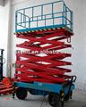 de alta calidad de plataforma hidráulica de elevación de la escalera