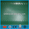 24 medidor de espesor de color de acero galvanizado corrugado hoja de