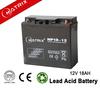 AGM/ SMF sealed lead acid battery 12V 18Ah battery system