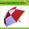salwar and kameez single canopy automatic advertising golf umbrella