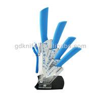 High quality 5pcs color ceramic knife set