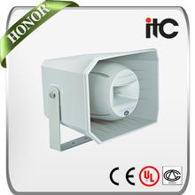 ITC T-710K 12.5W 25W 50W 2.0 Waterproof Outdoor Horn Speaker for Background Music System