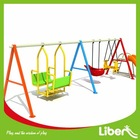 2014 Hot Selling Antique Children Swing/Supply With High Quality Plastic Swing Chair Set For Kids LE.QQ.013