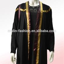 Muslim moroccan kaftan women abaya batwing sleeve design Islamic clothing wholesale