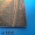 De haute qualité bronze, chinchilla compris verre