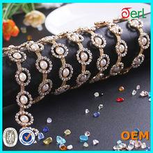 wholesale 2014 ladies new fashion asfour 888 crystal beaded rhinestone sash belt