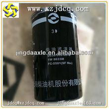 xcmg official loader seller shangchai diesel fuel filter D638-002-02+B 1W 8633M FC-5501 for wheel loader engine parts