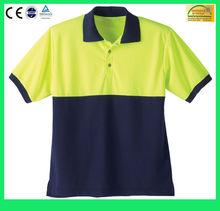 2015 New Mens Short Sleeve Pique Collar Polo Shirt/Polo T-Shirt 100% Cotton(6 Years Alibaba Service)