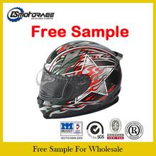Free Sample double visor full face motorcycle helmet