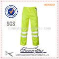 sunnytex 2014 mejor venta de cinta reflectante pantalones de trabajo