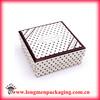 ivory board paper gift box custom packaging sweet box