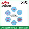 5 GHz longo alcance ao ar livre sem fio transmissor de áudio e vídeo