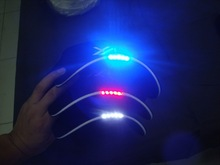 Custom Plain Dyed LED Light baseball cap of 100% Cotton China Factory