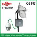 50 km 5.8 GHz TDMA militare- Grado esterno muro trasmettitore senza fili