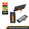 New design cell phone case for iphone 5 and iphone 5s stand design