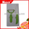 2pcs Stylish Promotion ceramic Kitchen Knife set for Gift