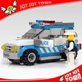 novos brinquedos da educação nova oportunidade de negócio do carro de polícia patrol vagão de plástico conjunto de blocos de construção de plástico bloco brinquedos 10112