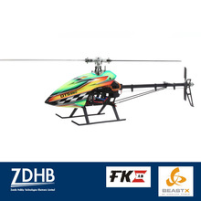DTS 550 Carbon Fiber Main Blades 3-axis Gyro MICROBEAST FUN KEY RC Helicopter