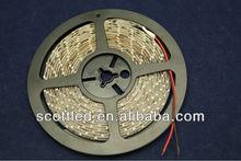 SMD 3528 flexible led strip light;60leds/m;5m/reel;DC12V input;Red color;waterproof IP65;White PCB