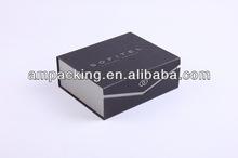 dongguan handmade black paper gift cardboard box