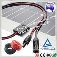 (Australia/Japan) Free Sample For tuv approved solar cable yingli solar panel
