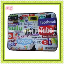 14 inch colorful custom neoprene laptop sleeve