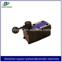 yuken type manually operated directional valves dump truck hydraulic valves