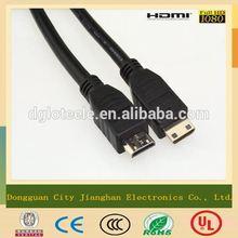 Braid shielding HDMI a rca