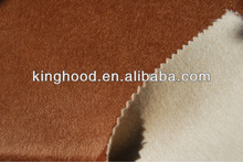 Quality double face wool/nylon fleece fabric